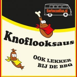 Barbecuebus Knoflooksaus