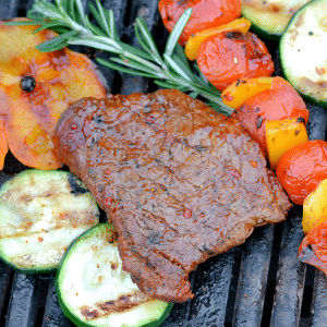 Barbecue producten biefstuk