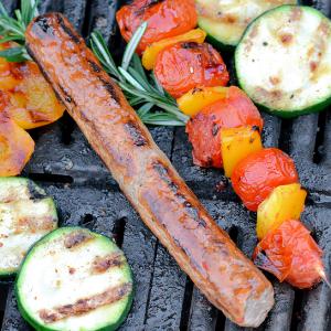 Barbecue producten frikandel