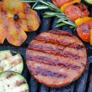 Barbecue producten grillburger