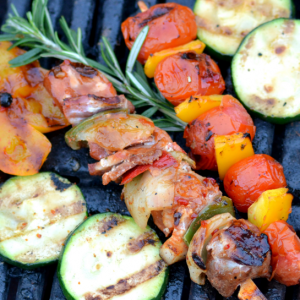 Barbecue producten shashlik