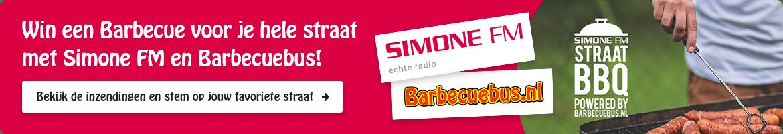 Win een Barbecue voor je hele straat met Simone FM en Barbecuebus!