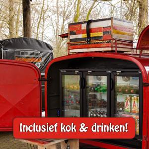 Barbecue inclusief kok en drinken!