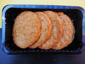 Kip grillburger 4 stuks