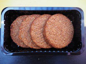 Vega hamburger 4 stuks